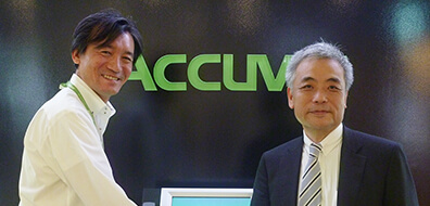 Accuver株式会社様